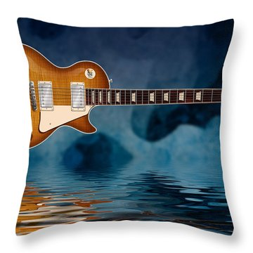 Cool Burst Throw Pillow by WB Johnston