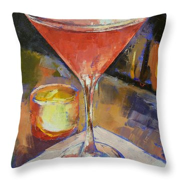 Cosmopolitan Throw Pillow by Michael Creese