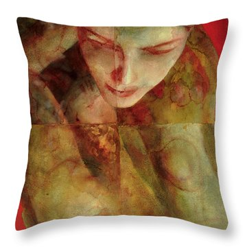 Cradlesong Throw Pillow by Graham Dean
