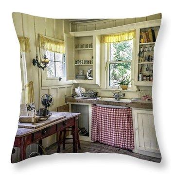 Cross Creek Country Kitchen Throw Pillow by Lynn Palmer