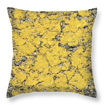 Crossroads Throw Pillow by Luke Moore