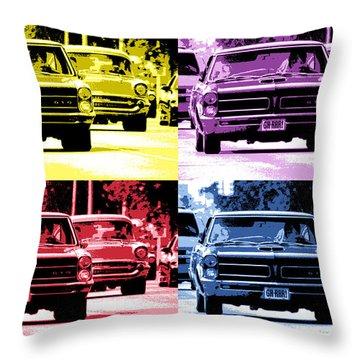 Cruise Pop 2 Throw Pillow by Gordon Dean II