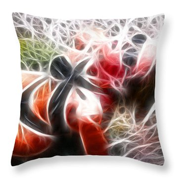 Crystal Sling 2 Fractal Throw Pillow by Gary Gingrich Galleries