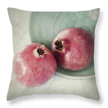 Cuddling Throw Pillow by Priska Wettstein