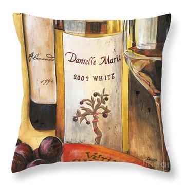 Danielle Marie 2004 Throw Pillow by Debbie DeWitt