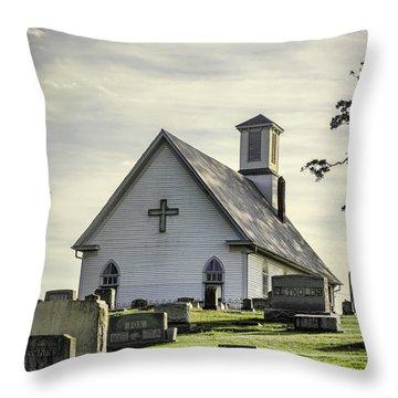 Dappled Light Throw Pillow by Heather Applegate