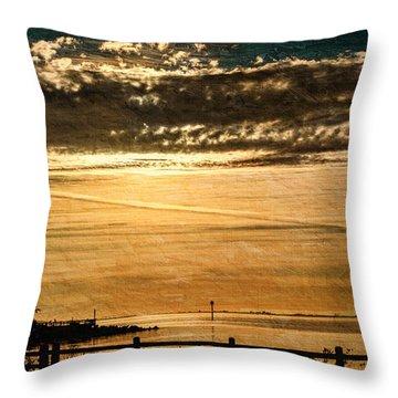 Dare To... Throw Pillow by Jordan Blackstone