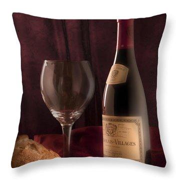 Date Night Still Life Throw Pillow by Tom Mc Nemar