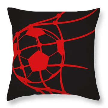 Dc United Goal Throw Pillow by Joe Hamilton