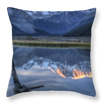 Deadwood At Beauty Creek Sunrise Throw Pillow by Brian Stamm