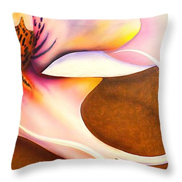 Defined Fine Lines Throw Pillow by Darren Robinson