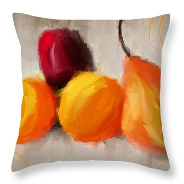 Delight Throw Pillow by Lourry Legarde