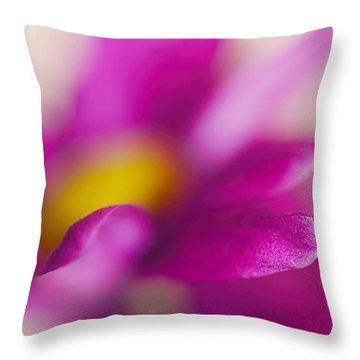 Delightful Tease Throw Pillow by Jenny Rainbow