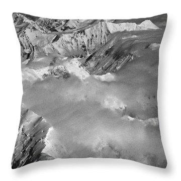Denali ... Throw Pillow by Juergen Weiss