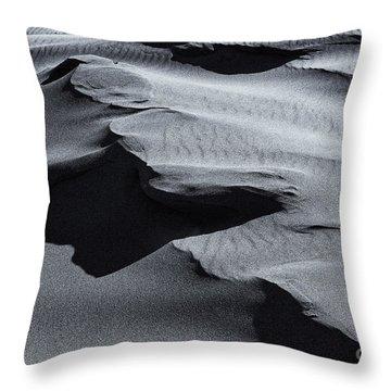 Desert Contours Throw Pillow by Mike  Dawson