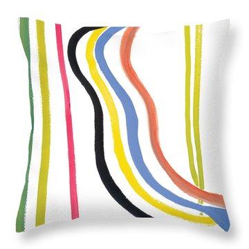 Destiny Throw Pillow by Bjorn Sjogren
