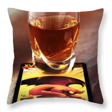 Diablo Throw Pillow by John Rizzuto