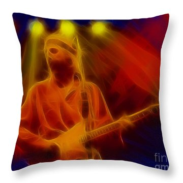 Dire Straits-4-fractal Throw Pillow by Gary Gingrich Galleries