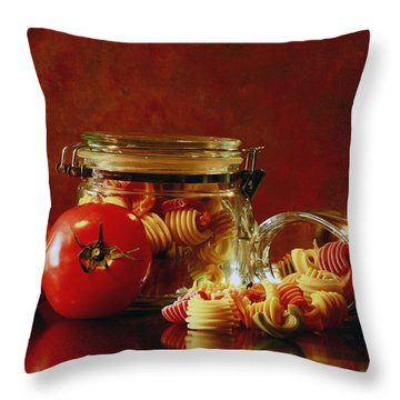 Discover A Taste Of Italy  Throw Pillow by Inspired Nature Photography Fine Art Photography