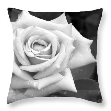 Don't Cry Throw Pillow by Sabrina L Ryan
