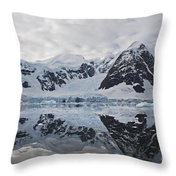 Doubleup... Throw Pillow by Nina Stavlund