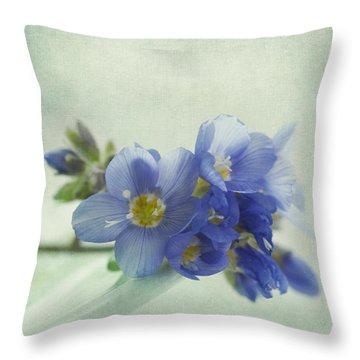 Douceur Throw Pillow by Priska Wettstein