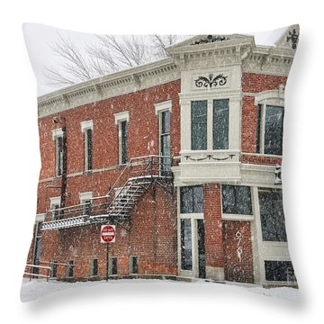 Downtown Whitehouse  7031 Throw Pillow by Jack Schultz