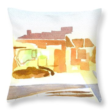 Dozing The Kozy    Throw Pillow by Kip DeVore