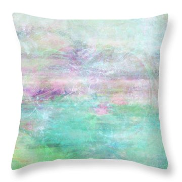 Dream - Abstract Art Throw Pillow by Jaison Cianelli