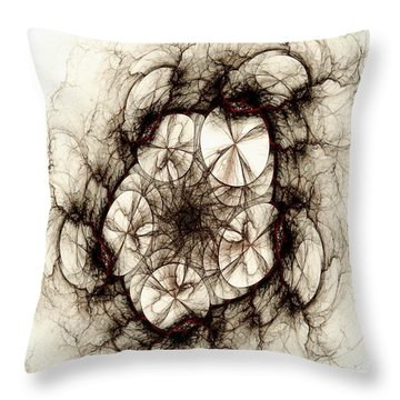 Dreamcatcher Throw Pillow by Anastasiya Malakhova