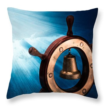 Dreaming Of The High Seas 1 Throw Pillow by Alexander Senin