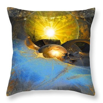 Dreamland Throw Pillow by Michael Durst