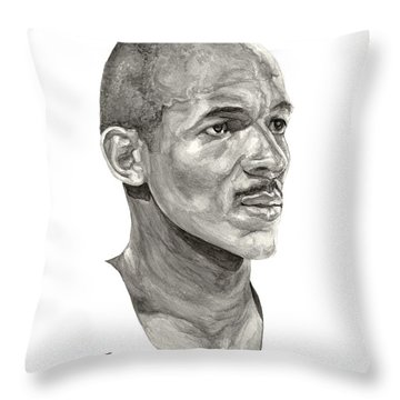 Drexler Throw Pillow by Tamir Barkan