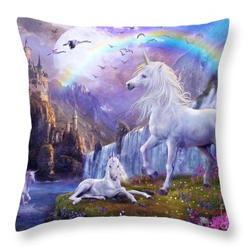 Early Evening Throw Pillow by Jan Patrik Krasny