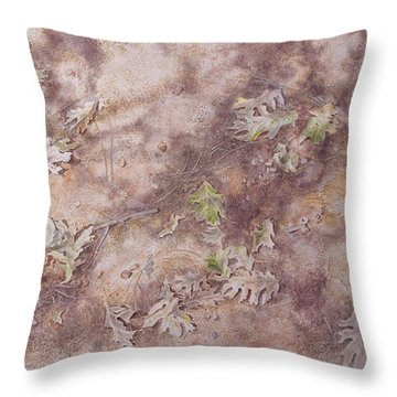 Early Fall Throw Pillow by Michele Myers