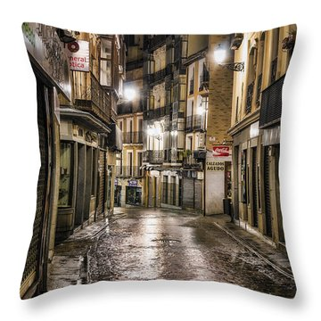Early Morning Toledo Throw Pillow by Joan Carroll