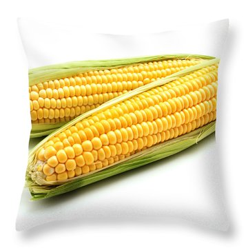 Ears Of Maize Throw Pillow by Fabrizio Troiani