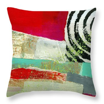 Edge 49 Throw Pillow by Jane Davies