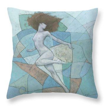 Eir Throw Pillow by Steve Mitchell
