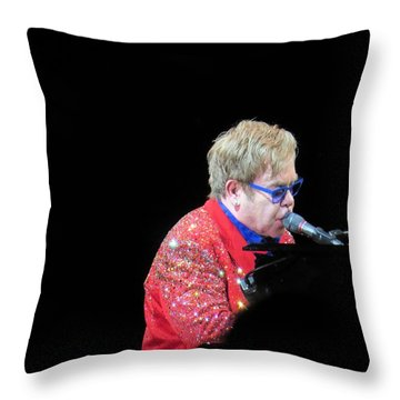 Elton Throw Pillow by Aaron Martens