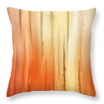 Elusive View Throw Pillow by Lourry Legarde