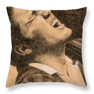 Elvis Studio '56 Throw Pillow by Rob De Vries