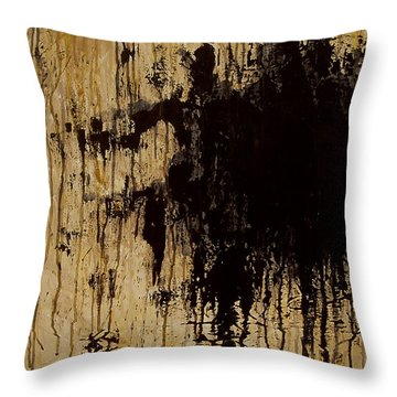 Emptiness Throw Pillow by Marlon Huynh