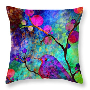 Enchantment Throw Pillow by Robin Mead