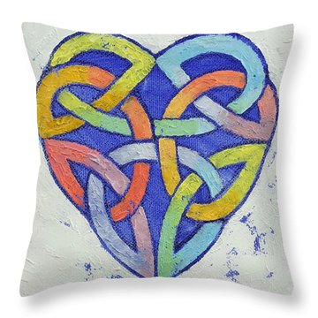 Endless Rainbow Throw Pillow by Michael Creese