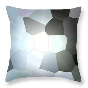Energy Within - Abstract Art Throw Pillow by Carol Groenen