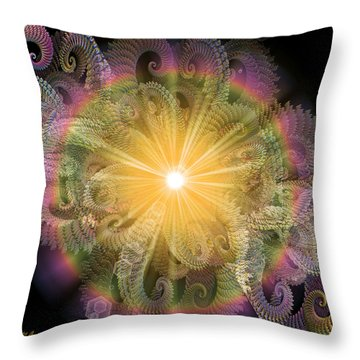 Engaging Throw Pillow by Michael Durst