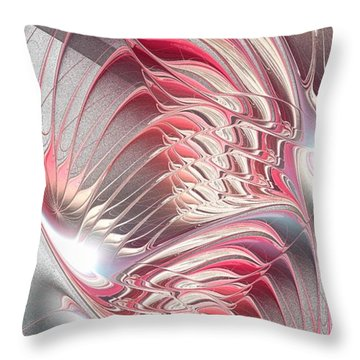 Enigma Throw Pillow by Anastasiya Malakhova