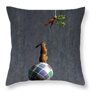 Equilibrium II Throw Pillow by Cynthia Decker