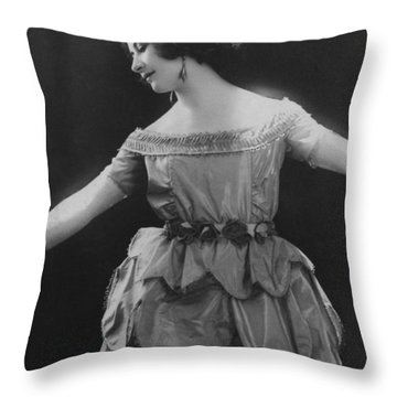 Esther Lachmann Throw Pillow by French Photographer